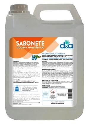 SABONETE LIQUIDO ANTISSEPTICO - 5LT